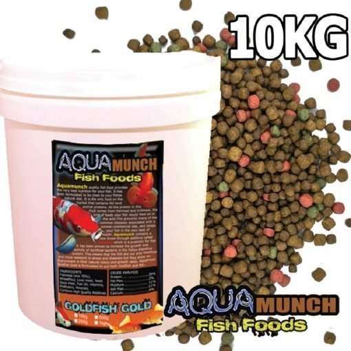 Aquamunch Goldfish Gold 3-5mm 5kgAquamunch Goldfish Gold 3-5mm 10kg