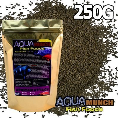 Aquamunch African Attack Small 250g