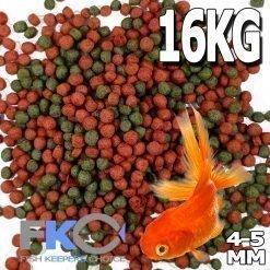 Goldfish Pellet 4-4mm 16kg