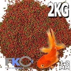 Goldfish Pellets Small 1-2mm 2kg