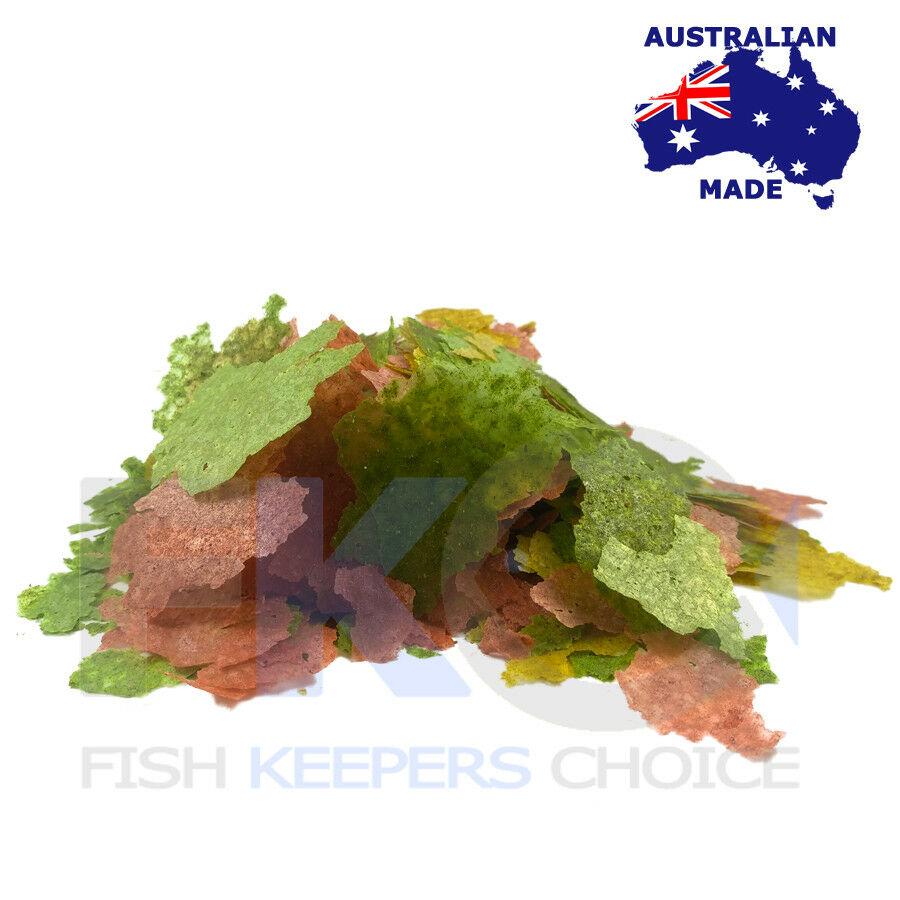 Fkc Tropical Cichlid Aquarium Flakes Fish Food Bulk Flake Feed Australia Made Ebay